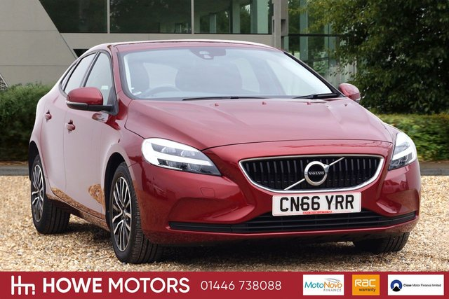 2016 66 VOLVO V40 2.0 D2 MOMENTUM 5d 118 BHP HIGH PERFORMANCE AUDIO WITH DAB 16