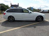 USED 2017 17 BMW 3 SERIES 2.0 320I M SPORT TOURING 5d AUTO 181 BHP ** M-SPORT BRAKING SYSYTEM * NAV * 1 OWNER **
