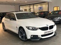 USED 2018 18 BMW 4 SERIES 2.0 430I M SPORT GRAN COUPE 4d AUTO 248 BHP M PERFORMANCE STYLING+SUNROOF