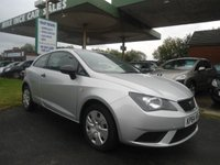 2014 SEAT IBIZA 1.2 S A/C 3d 69 BHP ONE FORMER KEEPER £4495.00