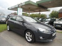 2012 FORD FOCUS 1.6 ZETEC 5d 104 BHP ONE FORMER KEEPER