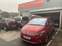 USED 2014 64 CITROEN C4 GRAND PICASSO 1.6 E-HDI VTR PLUS ETG6 5d AUTO 113 BHP AUTOMATIC WITH ONLY 14888 MILES FROM NEW! LOW CO2 EMISSIONS GREAT SPECIFICATION INCLUDING ALLOYS, AIR CONDITIONING, CRUISE CONTROL, DAB RADIO AND BLUETOOTH.