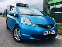 2010 HONDA JAZZ 1.3 I-VTEC ES I-SHIFT 5 DOOR AUTOMATIC with only 32000 miles and full service history £4995.00
