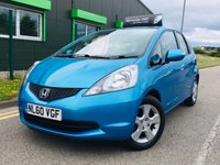 USED 2010 60 HONDA JAZZ 1.3 I-VTEC ES I-SHIFT 5 DOOR AUTOMATIC with only 32000 miles and full service history
