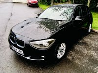 USED 2014 64 BMW 1 SERIES 1.6 116D EFFICIENTDYNAMICS BUSINESS 5d 114 BHP Lots Of Spec Including Full Leather, Sat Nav & Heated Seats!