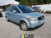 USED 2001 51 AUDI A2 1.4 1.4 5d 74 BHP PART EX TO CLEAR - TRADE SALE