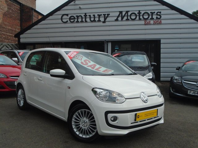 2012 62 VOLKSWAGEN UP 1.0 HIGH UP BLUEMOTION 5d - LEATHER + A/C