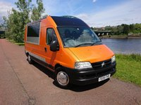 2005 CITROEN RELAY 2.2 1800TD LWB H/R HDI 1d CONVERTED TO FOOD AND REFRESHMENT VEHICLE £10990.00