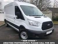 USED 2016 16 FORD TRANSIT 350 RWD 2.2 125 BHP L3 H2 P/V**OVER 85 VANS IN STOCK**