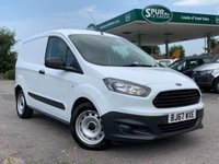 USED 2017 67 FORD COURIER VAN 1.5 BASE TDCI 1d 74 BHP ULEZ COMPLIANT EURO 6, Bluetooth Phone Hands-free.
