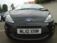 USED 2010 10 FORD KA 1.2 ZETEC 3d 69 BHP GUARANTEED TO BEAT ANY 'WE BUY ANY CAR' VALUATION ON YOUR PART EXCHANGE