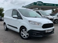 USED 2016 66 FORD COURIER VAN 1.6 TREND TDCI 1d 94 BHP ULEZ COMPLIANT EURO 6, Air Con, Bluetooth Phone Hands-free.