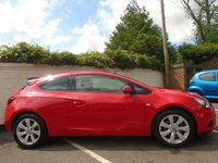 USED 2012 12 VAUXHALL ASTRA 1.4 GTC SPORT S/S 3d 138 BHP GUARANTEED TO BEAT ANY 'WE BUY ANY CAR' VALUATION ON YOUR PART EXCHANGE