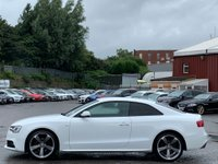 USED 2012 62 AUDI A5 2.0 TDI Black Edition 2dr JustServiced/B&O/SportsSeats