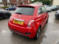 USED 2013 13 FIAT 500 1.2 S (s/s) 3dr FULL SERVICE HISTORY