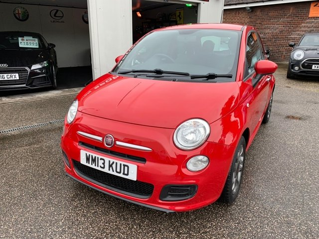FIAT 500 at Euxton Sports and Prestige