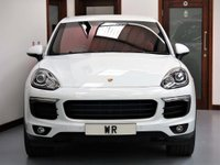 USED 2014 64 PORSCHE CAYENNE 3.0 TD Tiptronic 4WD (s/s) 5dr SAT NAV + R/CAM + RED LEATHER