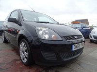 2007 FORD FIESTA 1.2 STYLE CLIMATE CHEAP INSURANCE £1500.00