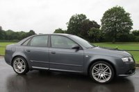 USED 2007 07 AUDI A4 2.0 TDI S LINE SPECIAL EDITION 4d 170 BHP