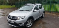 USED 2014 14 DACIA SANDERO 1.5 STEPWAY AMBIANCE DCI 5d 90 BHP ONE OWNER FSH LOW MILEAGE. SILVER MET WITH BLACK CLOTH TRIM. COLOUR CODED TRIMS. BLUETOOTH PREP. R/CD PLAYER WITH AUX. MOT 06/20. SERVICE HISTORY. P/X CLEARANCE CENTRE. LS23 7FQ - TEL 01937 849492 OPTION 4