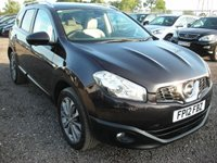 USED 2012 12 NISSAN QASHQAI+2 1.6 TEKNA IS PLUS 2 DCIS/S 5d 130 BHP 1 Previous owner - Pan roof - Leather - Sat nav