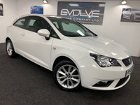 USED 2015 65 SEAT IBIZA 1.4 TOCA 3d 85 BHP F/S/H, IMMACULATE EXAMPLE!!
