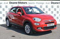 USED 2016 66 FIAT 500X 1.4 MULTIAIR POP STAR DDCT 5d AUTO 140 BHP