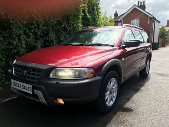 2005 VOLVO XC70 2.5 PETROL SE LUX AWD AUTOMATIC - LPG CONVERSION - FULL SERVICE HISTORY & A NEW CAMBELT @ 75,584 MILES £4490.00