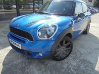 USED 2012 MINI COUNTRYMAN 1.6 COOPER S 5d 184 BHP Excellent Spec, Stunning Looking Car, FSH, No Deposit Needed, Part Exchange Welcomed