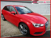 2014 AUDI A3 1.6 TDI SE 5dr 104 BHP *GENUINE LOW MILES WITH FSH* £SOLD