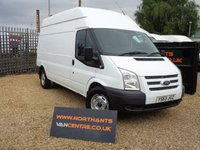 2014 FORD TRANSIT 2.2 350 HIGH ROOF 5d 100 BHP  *NO VAT* £5000.00