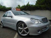 2006 MERCEDES-BENZ C CLASS 1.8 C180 KOMPRESSOR AVANTGARDE SE 4d AUTO 141 BHP £2799.00