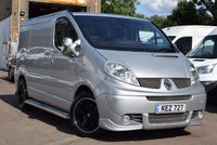 2014 RENAULT TRAFIC 2.0 SL27 SPORT DCI S/R P/V 1d 115 BHP £8999.00
