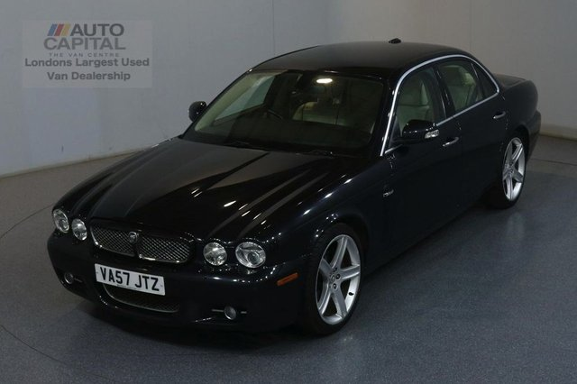 2007 57 JAGUAR XJ 2.7 SOVEREIGN V6 4d 204 BHP AUTOMATIC SALOON AIR CON, PARKING SENSORS