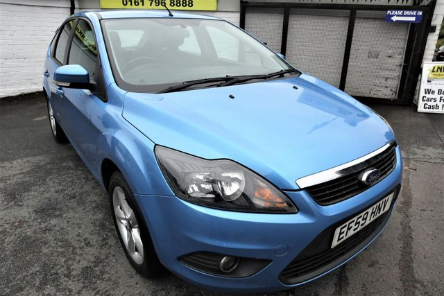 USED 2010 59 FORD FOCUS 1.8 ZETEC 5d 125 BHP * HPI CLEAR - GREAT FAMILY CAR