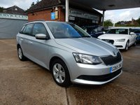 USED 2015 65 SKODA FABIA 1.2 SE TSI 5d 109 BHP FULL HISTORY,TWO KEYS,AIR CON,DAB RADIO,CRUISE CONTROL