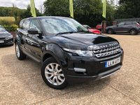 2014 LAND ROVER RANGE ROVER EVOQUE 2.2 SD4 PURE TECH 5d 190 BHP £15500.00