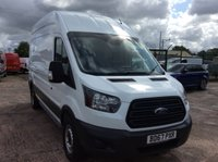 USED 2017 67 FORD TRANSIT LWB 2.0 350 L3 H3 DRW 129 BHP 1 OWNER FSH NEW MOT MANUFACTURER'S WARRANTY EURO 6 SPARE KEY ELECTRIC WINDOWS BLUETOOTH 6 SPEED