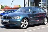 USED 2008 58 BMW 1 SERIES 1.6 116I EDITION ES 3d 121 BHP HERE AT MOTOR VILLAGE WE ARE PLEASED TO OFFER THIS BEAUTIFUL BMW 118I, IT COMES WITH GREAT SERVICE HISTORY AND HAS QUITE A RARE COLOUR TO IT, CAR COMES WITH 2 KEYS, GRAB YOURSELF A BARGAIN TODAY