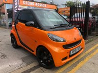 2011 SMART FORTWO 1.0 PASSION MHD 2d AUTO 71 BHP £3999.00