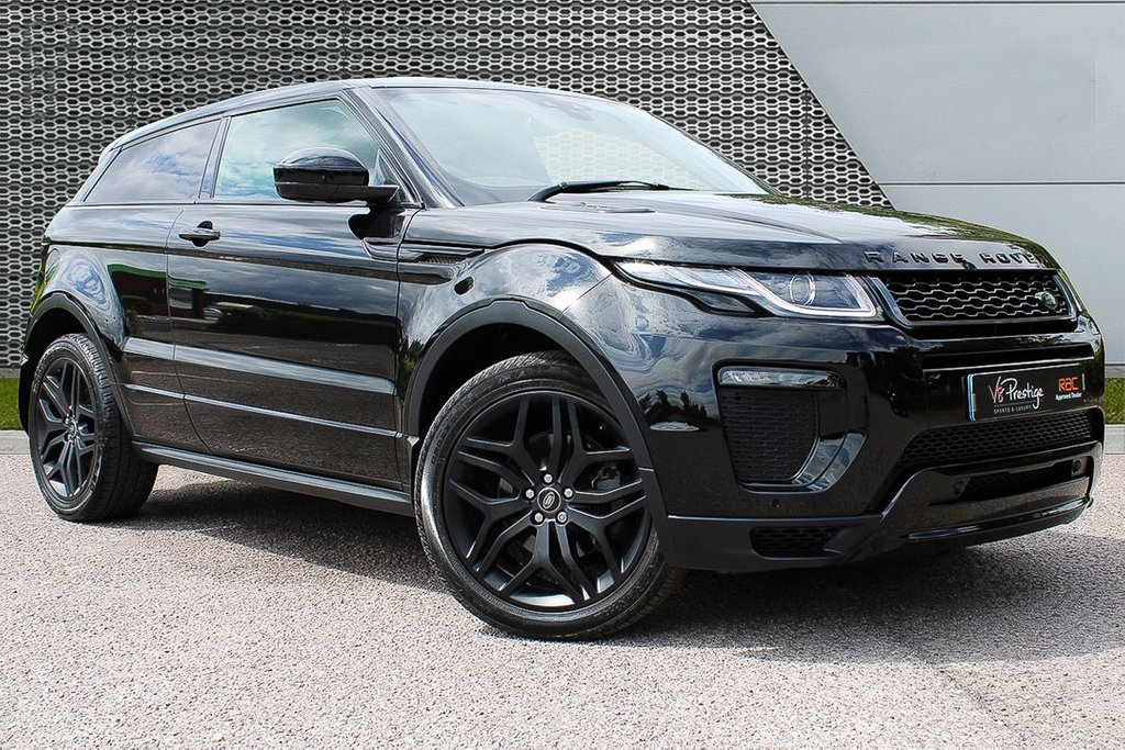 USED 2016 16 LAND ROVER RANGE ROVER EVOQUE 2.0 TD4 HSE DYNAMIC 3d AUTO 177 BHP *STEALTH PACK/PAN ROOF/COUPE*