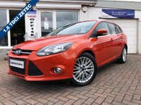 USED 2012 12 FORD FOCUS 1.6 ZETEC TDCI 5d 113 BHP SUPPLIED WITH 12 MONTHS MOT, LOVELY CAR TO DRIVE