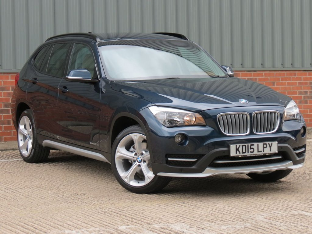 USED 2015 15 BMW X1 2.0 XDRIVE20D XLINE 5d AUTO 181 BHP FANTASTIC ONE OWNER EXAMPLE
