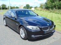 USED 2011 11 BMW 5 SERIES 2.0 520D SE 4d 181 BHP HEATED LEATHER, BLUETOOTH