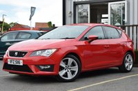 USED 2014 X SEAT LEON 2.0 TDI FR 5d 184 BHP STUNNING CAR WITH GREAT SERVICE HISTORY, MUST BE SEEN!
