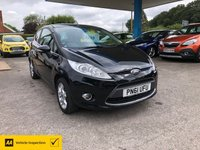 USED 2011 61 FORD FIESTA 1.2 ZETEC 3d 81 BHP NEED FINANCE? WE CAN HELP!
