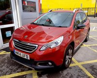 """USED 2014 14 PEUGEOT 2008 1.6 E-HDI ALLURE FAP 5d AUTO 92 BHP/ PARKING SENSORS/ BLUETOOTH ECONOMICAL & PRACTICAL PEUGEOT 2008 ALLURE E-HDI AUTOMATIC COMES WITH GREAT EXTRAS/ MEDIA SCREEN/ BLUETOOTH/ PARKING SENSORS/ WITH EXCELLENT FULL SERVICE HISTORY (9 SERVICE STAMPS), LAST SERVICE 03/06/2019 @71K MILEAGE/ MOT 19/07/2014/ ROAD TAX £0,- / 2 KEYS/ WARRANTY/ HPI CLEARED/  BOOK A TEST DRIVE TODAY! APPLY FOR A CAR FINANCE ON OUR WEBSITE PAGE """"FINANCE"""""""