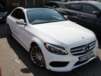 USED 2016 66 MERCEDES-BENZ C CLASS 2.1 C220 D AMG LINE PREMIUM 4d AUTO 170 BHP HPI CLEAR ANY PART EXCHANGE WELCOME, COUNTRY WIDE DELIVERY ARRANGED, HUGE SPEC