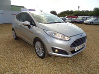 USED 2013 13 FORD FIESTA 1.0 TITANIUM 3d 79 BHP MOT 22nd July 2020... 5 x Service Stamps... Group 7 Insurance... £0 Road Tax... Sony CD with Bluetooth, DAB and AUX/USB... LED Driving Lights... Cruise Control... Privacy Glass... Warranty with Recovery Included