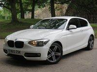 2013 BMW 1 SERIES 2.0 116D SPORT 3d 114 BHP £5555.00